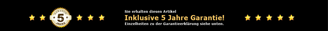 5-Jahre Garantie