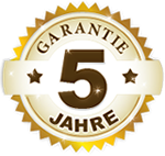 5-Jahres-Garantie