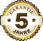 5-Jahres-Garantie