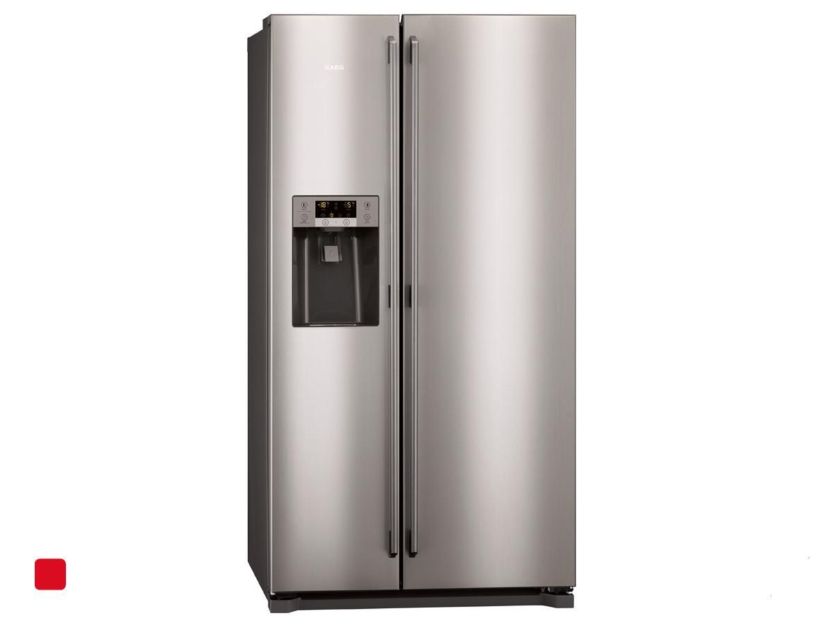 Aeg Kühlschrank A : Aeg s xns side by side kühl gefrier kombination edelstahl