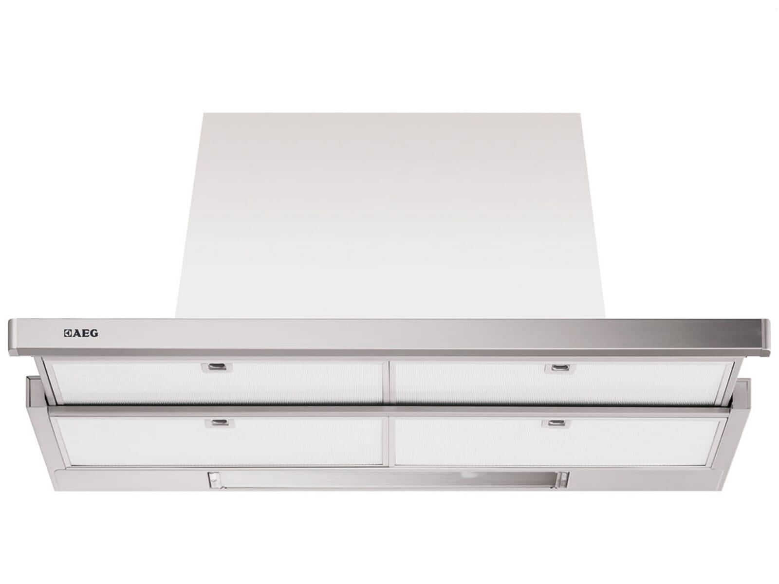 aeg df7190 m flachschirm dunstabzugshaube edelstahl. Black Bedroom Furniture Sets. Home Design Ideas