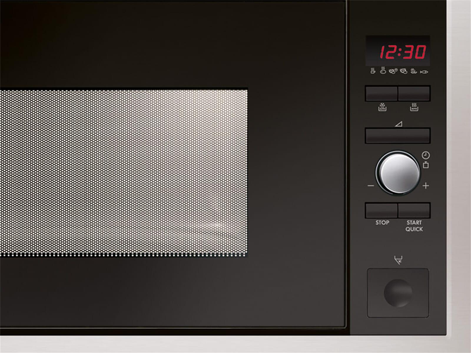 aeg mc2665e m einbau mikrowelle edelstahl ebay. Black Bedroom Furniture Sets. Home Design Ideas