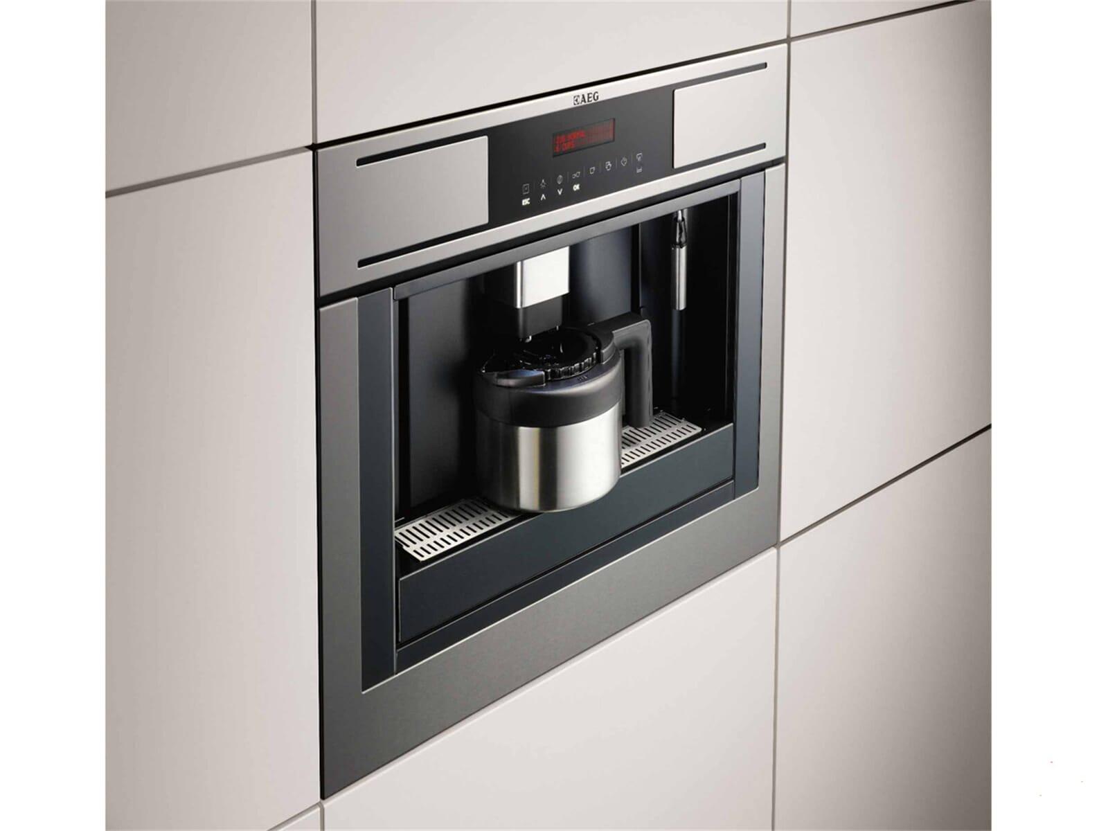 AEG PE4511 M Einbau Espresso Kaffeevollautomat Edelstahl