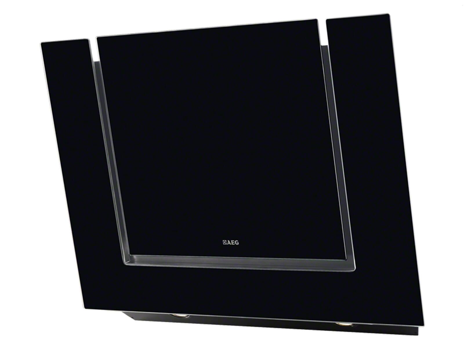 aeg x68163bv10 kopffrei wand dunstabzugshaube schwarz kopffreihaube 80cm esse. Black Bedroom Furniture Sets. Home Design Ideas