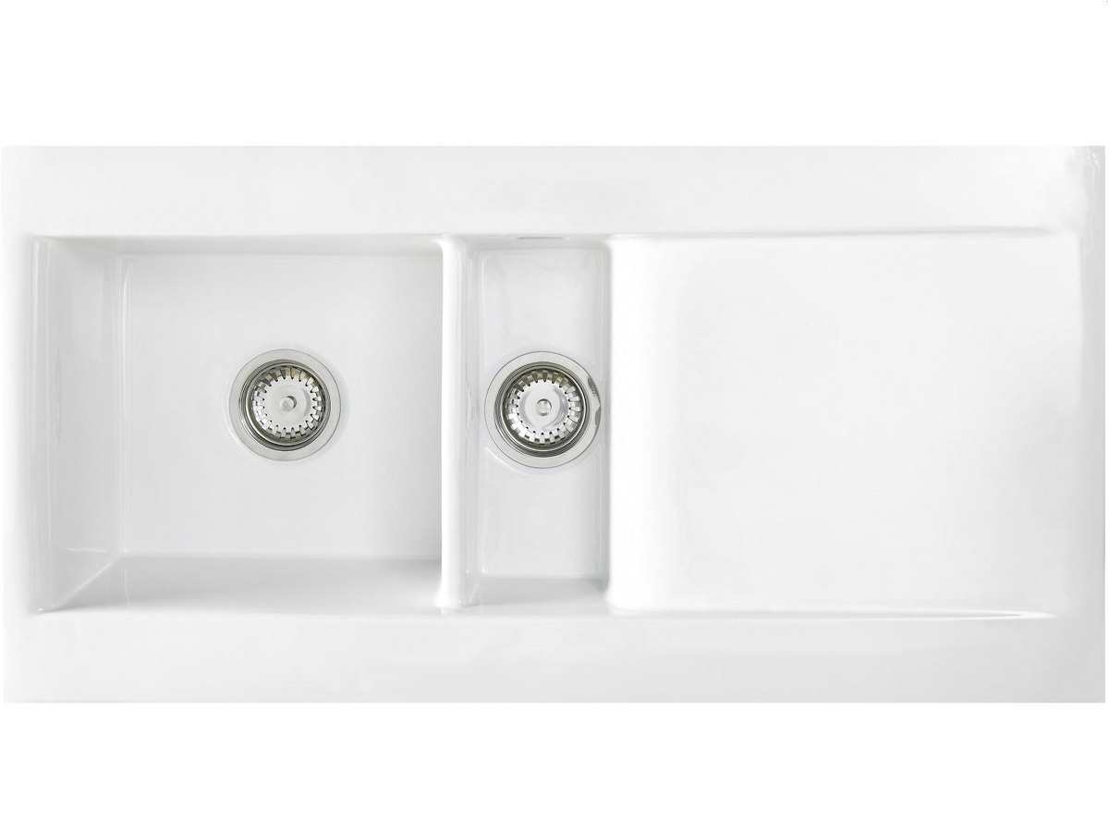 astracast liscio 1 5 hochglanz wei keramik sp le f r 298 90 eur. Black Bedroom Furniture Sets. Home Design Ideas