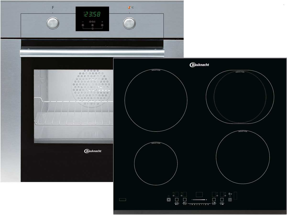 Bauknecht BKSN 501101 Set Backofen BMVK 8200 IN  ~ Backofen Set