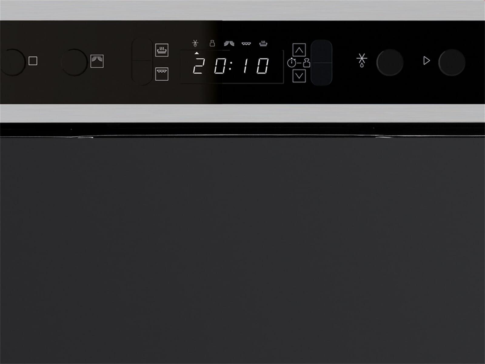 bauknecht emnk5 2438 pt einbau mikrowelle edelstahl ebay. Black Bedroom Furniture Sets. Home Design Ideas