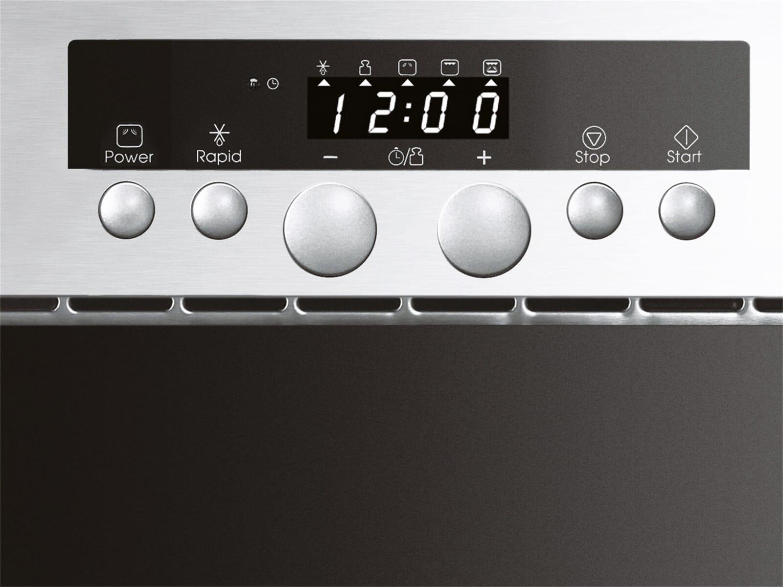 bauknecht 50cm emw 8538 in einbau mikrowelle edelstahl ebay. Black Bedroom Furniture Sets. Home Design Ideas