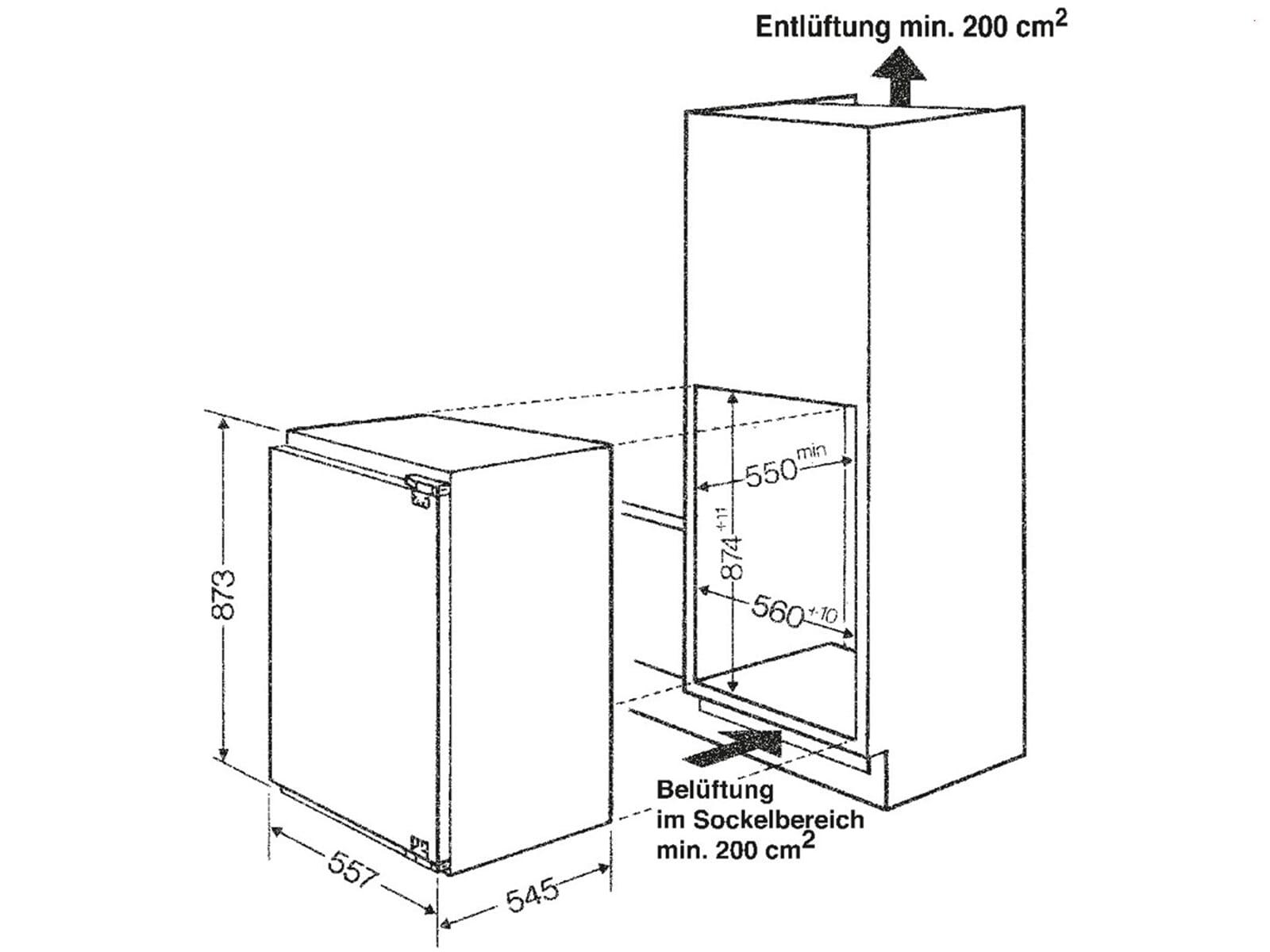 bauknecht gkie 2873 a einbaugefrierschrank ebay. Black Bedroom Furniture Sets. Home Design Ideas