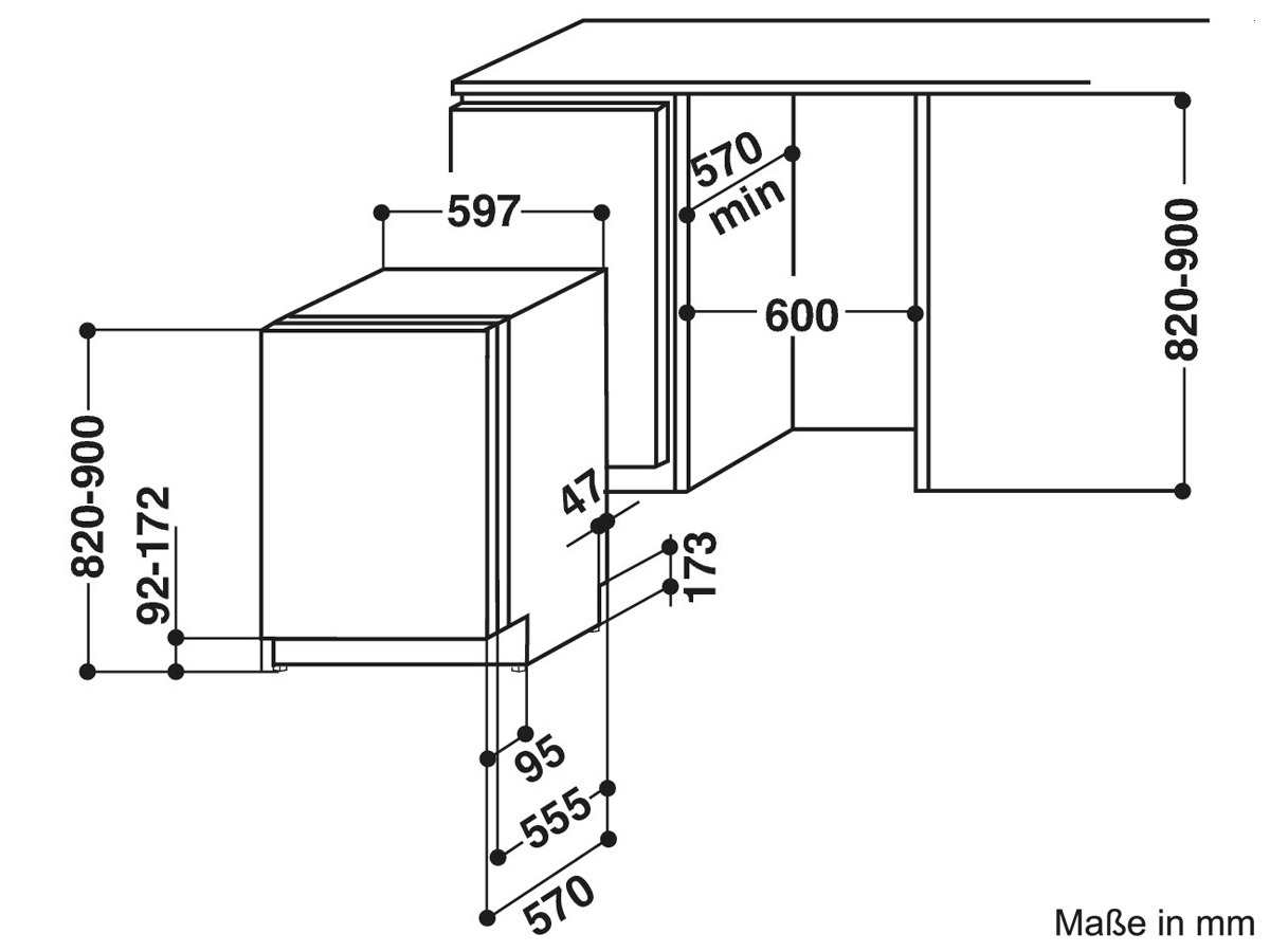 bauknecht gsx 158112 a vollintegrierbarer einbau geschirrsp ler sp lmaschine ebay. Black Bedroom Furniture Sets. Home Design Ideas