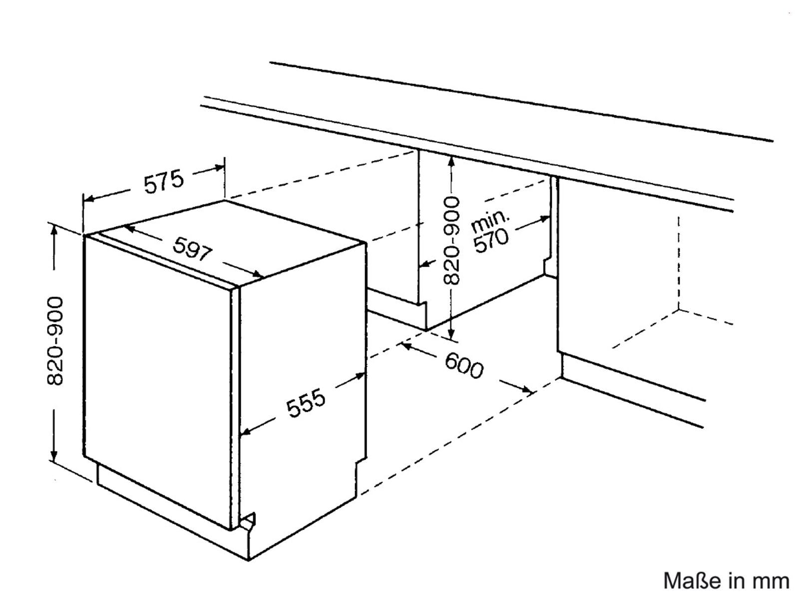 bauknecht gsxs 5104 a1 vollintegrierbar einbau geschirrsp ler sp lmaschine a ebay. Black Bedroom Furniture Sets. Home Design Ideas