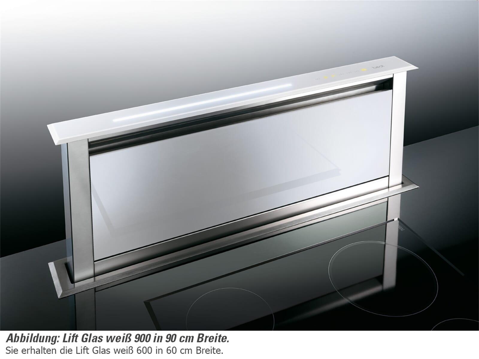 best lift tischhaube dunstabzugshaube edelstahl wei. Black Bedroom Furniture Sets. Home Design Ideas