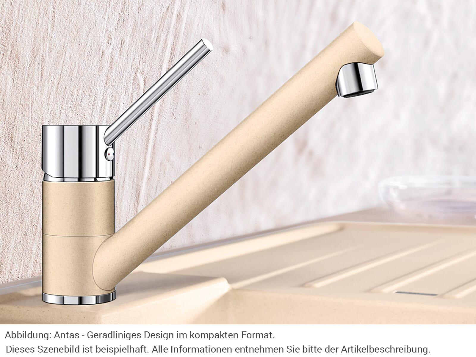 blanco antas felsgrau niederdruck armatur f r 174 90 eur. Black Bedroom Furniture Sets. Home Design Ideas