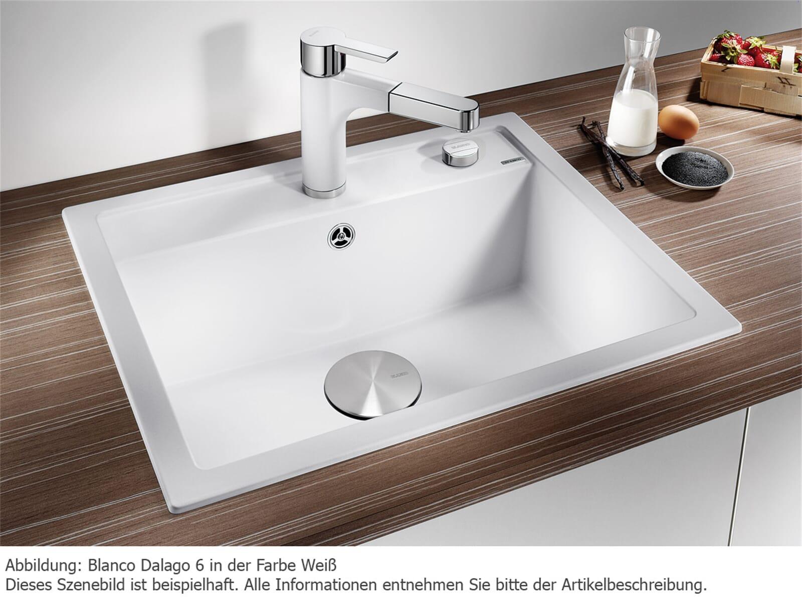 blanco dalago 6 anthrazit granit sp le f r 264 90 eur. Black Bedroom Furniture Sets. Home Design Ideas