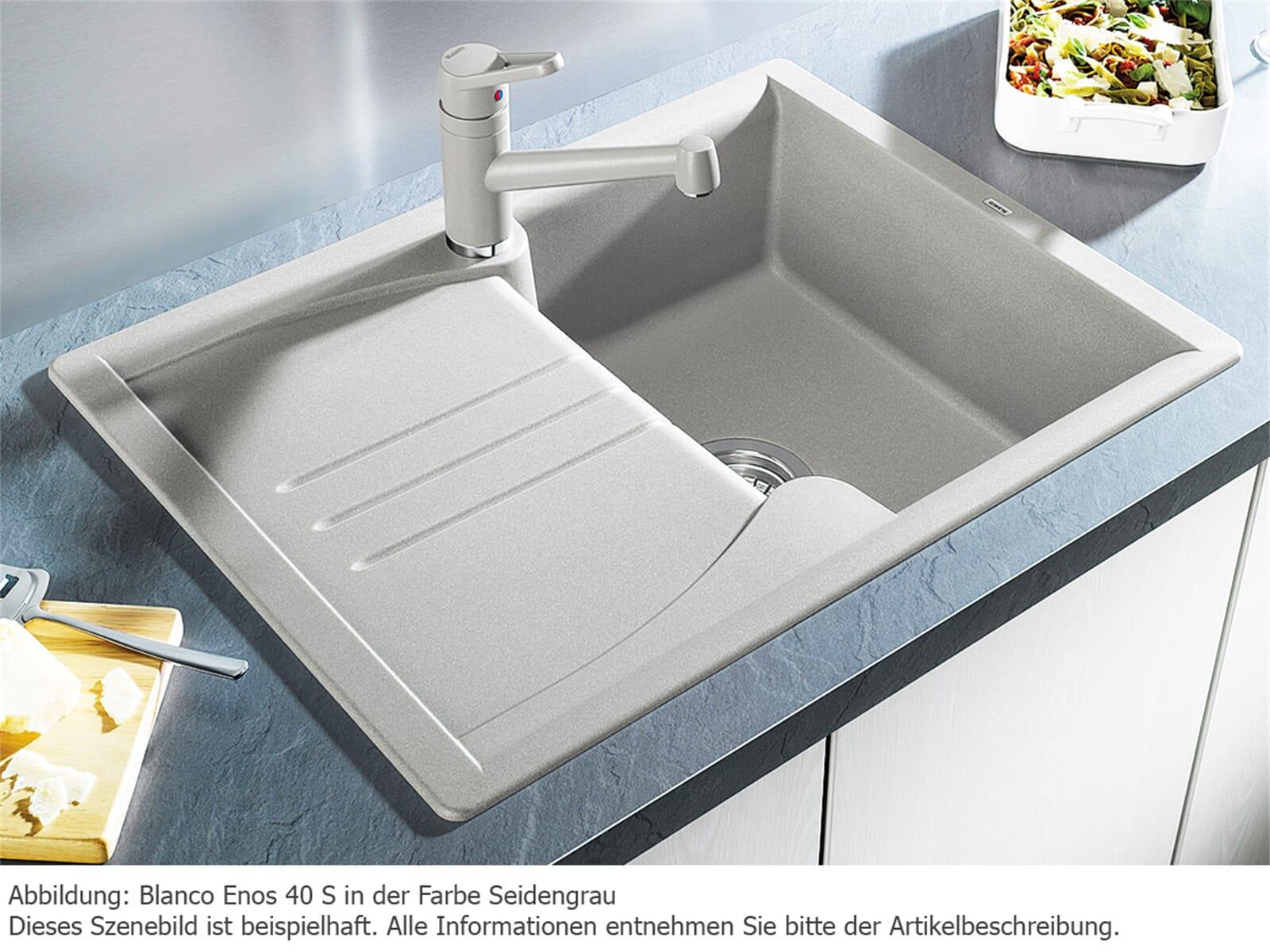 blanco enos 40 s felsgrau granit sp le f r 174 90 eur. Black Bedroom Furniture Sets. Home Design Ideas