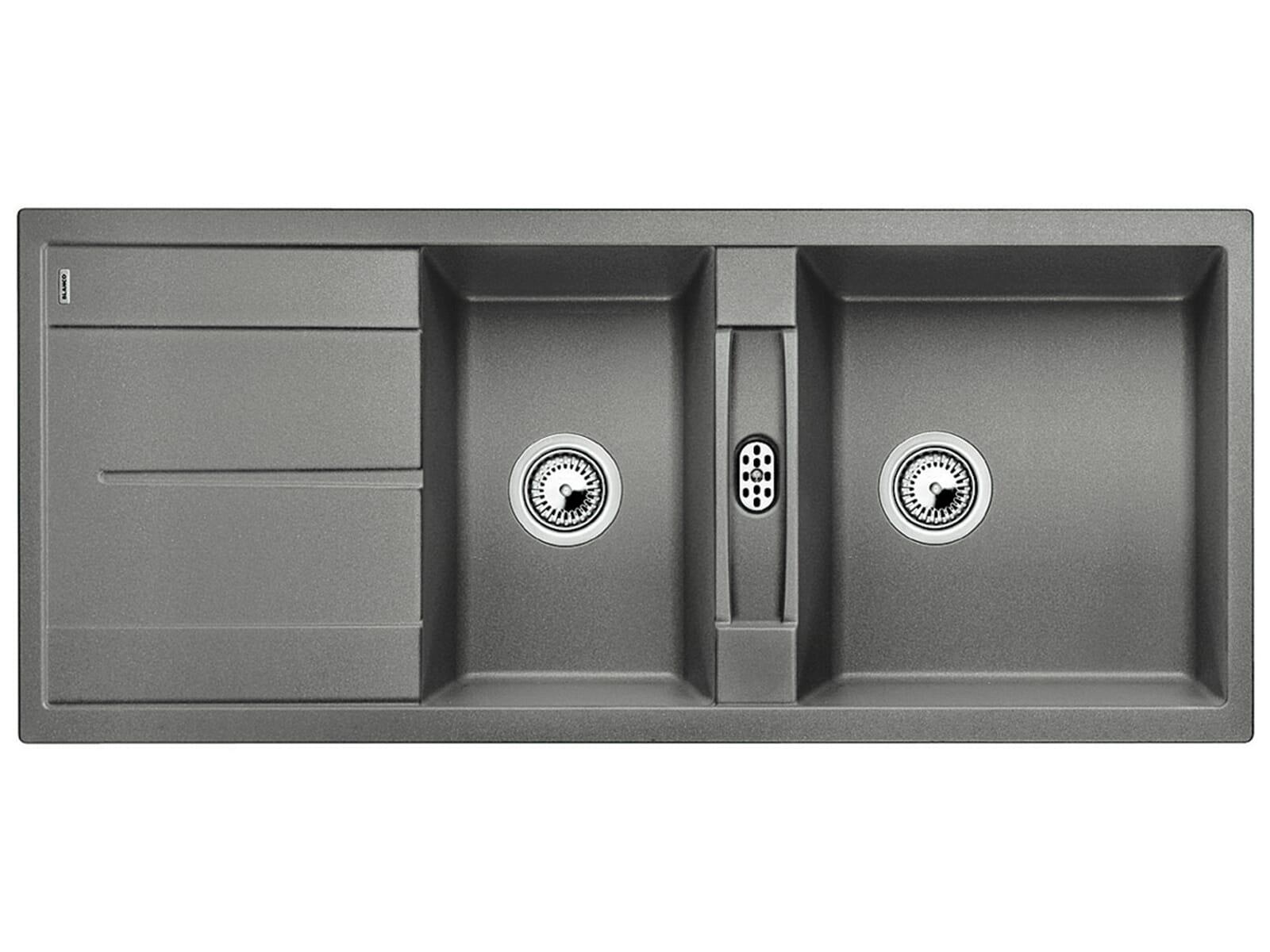 blanco metra 8 s alumetallic granit sp le f r 408 90 eur. Black Bedroom Furniture Sets. Home Design Ideas