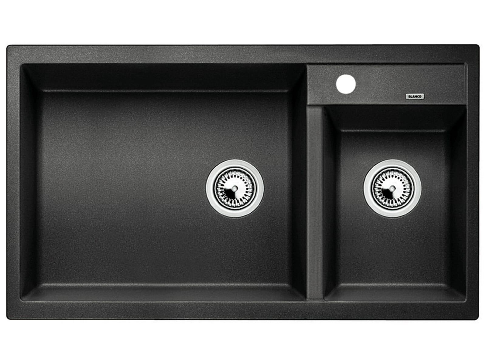 blanco metra 9 anthrazit granit sp le f r 348 90 eur. Black Bedroom Furniture Sets. Home Design Ideas