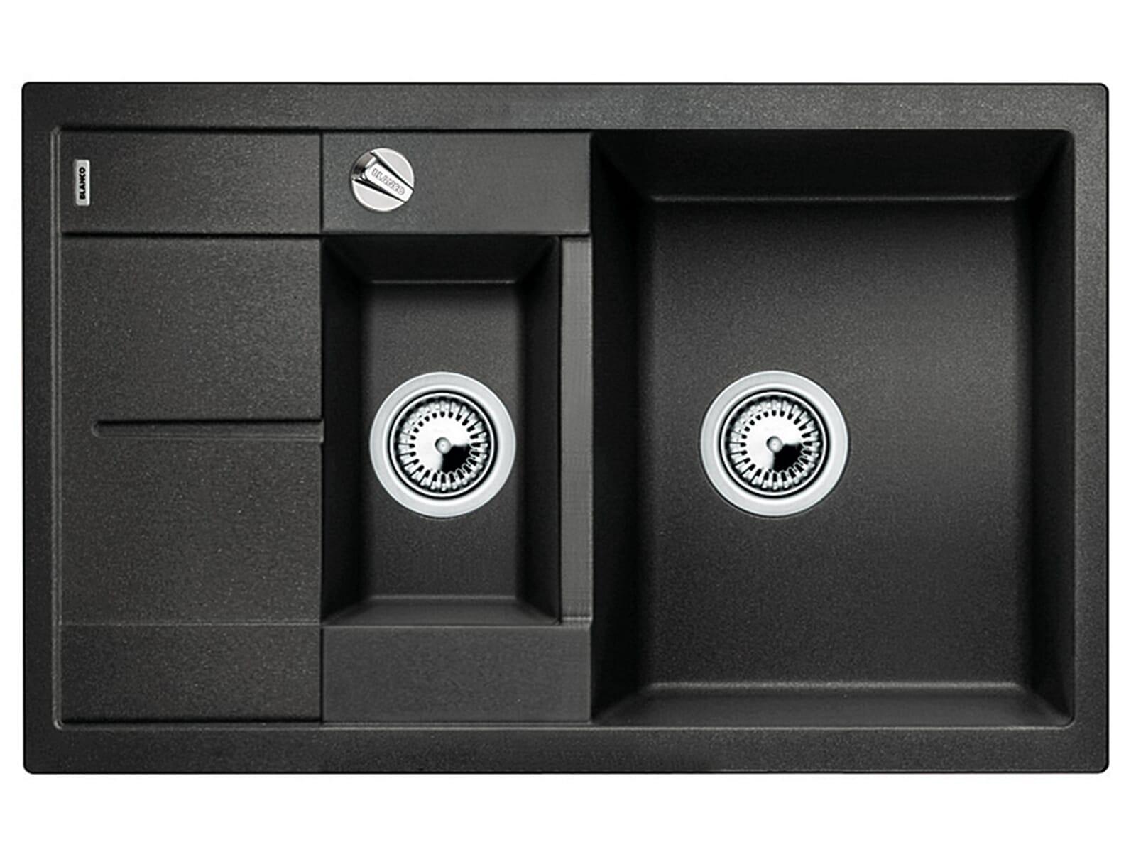 blanco metra 6 s compact anthrazit granit sp le f r 264 90. Black Bedroom Furniture Sets. Home Design Ideas