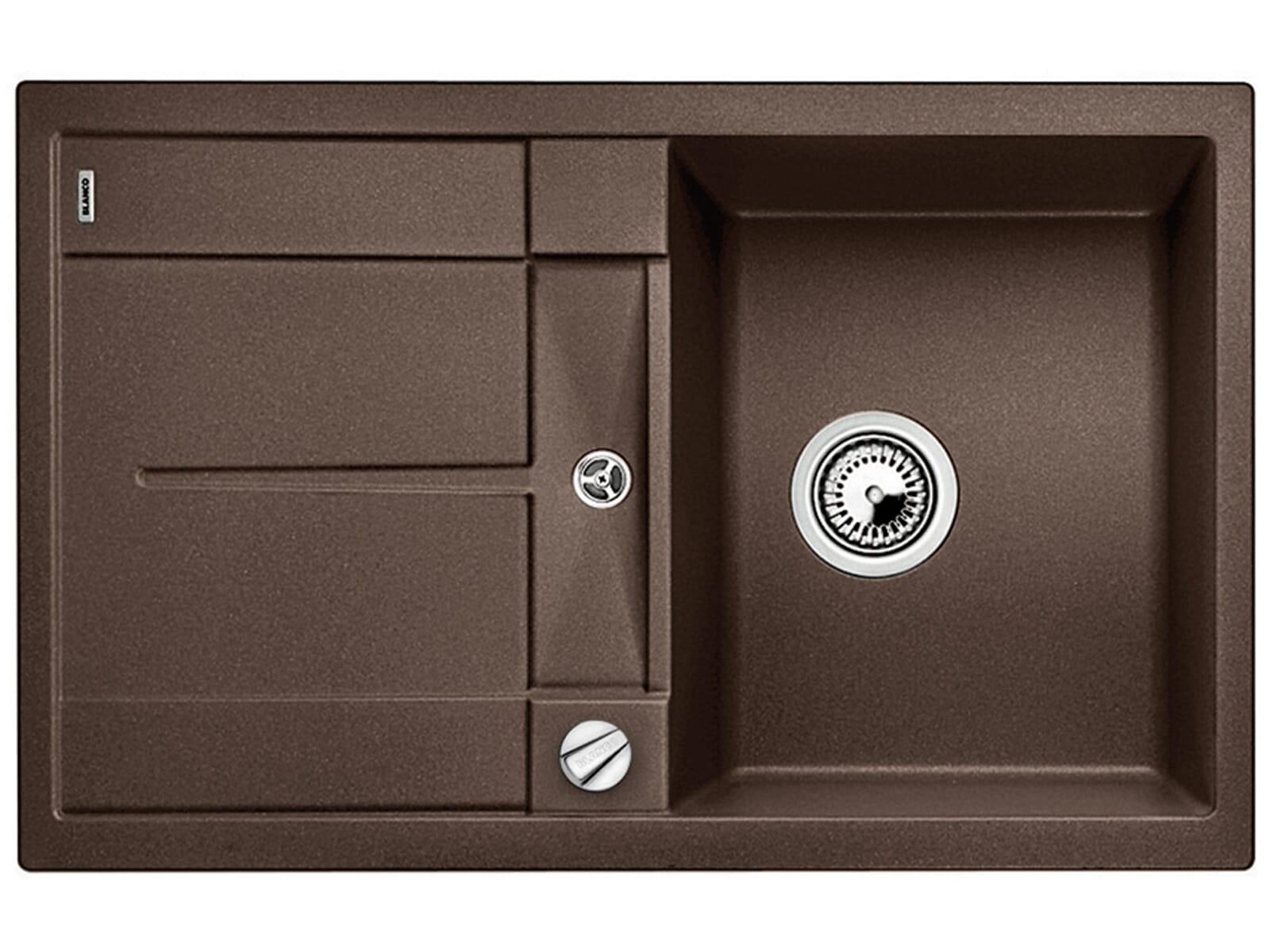 blanco metra 45 s cafe granit sp le f r 178 90 eur shop. Black Bedroom Furniture Sets. Home Design Ideas