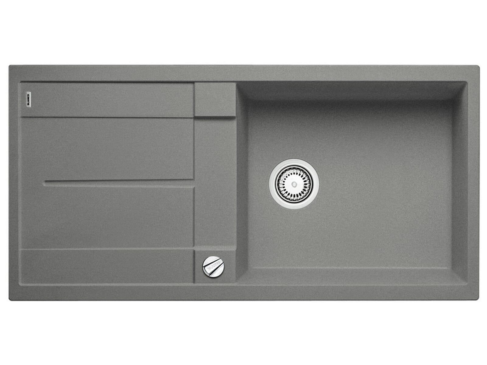 blanco metra xl 6 s alumetallic grau granit einbausp le sp ltisch k chen sp le ebay. Black Bedroom Furniture Sets. Home Design Ideas