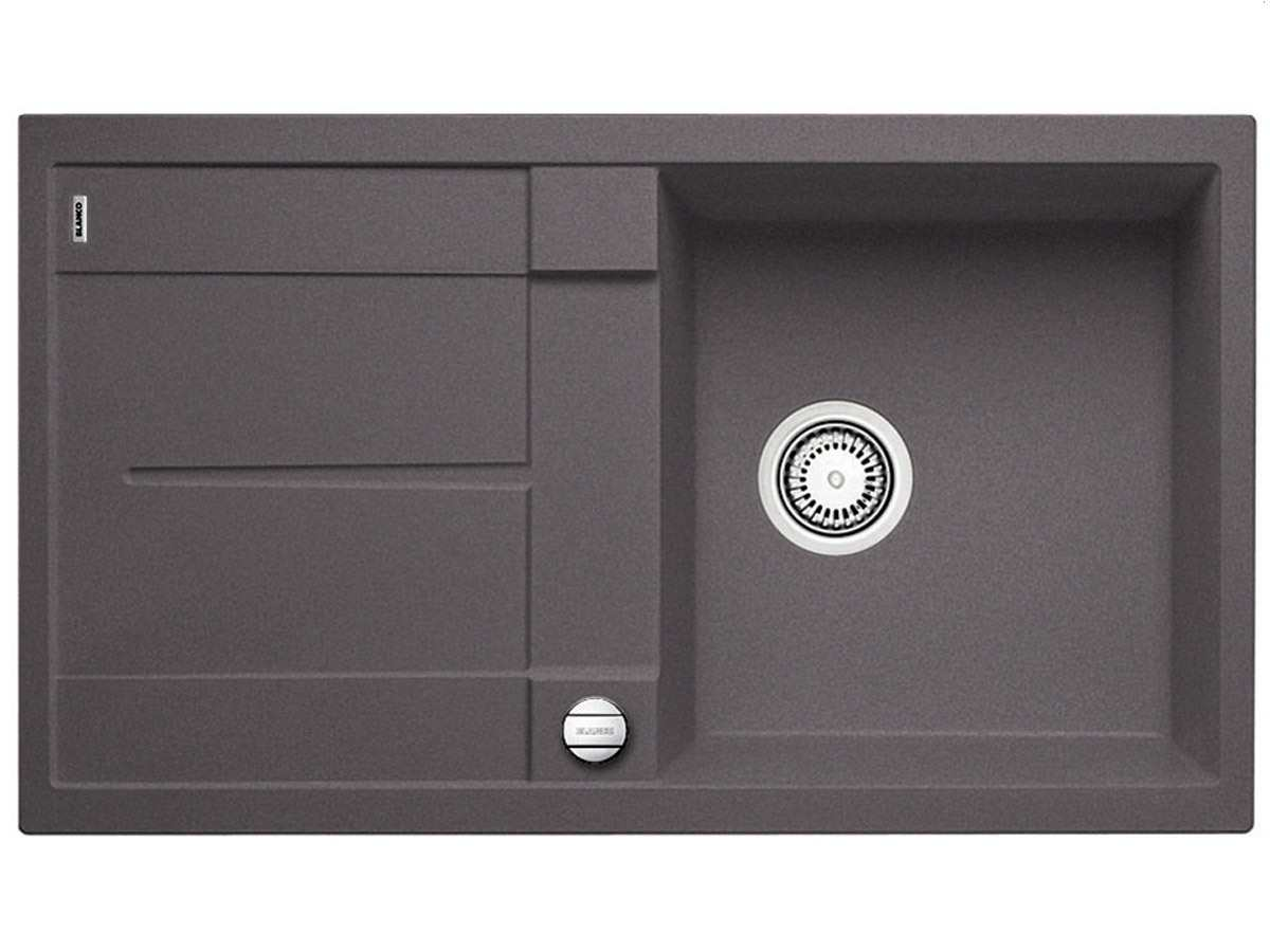 blanco metra 5 s felsgrau granit sp le f r 254 90 eur. Black Bedroom Furniture Sets. Home Design Ideas