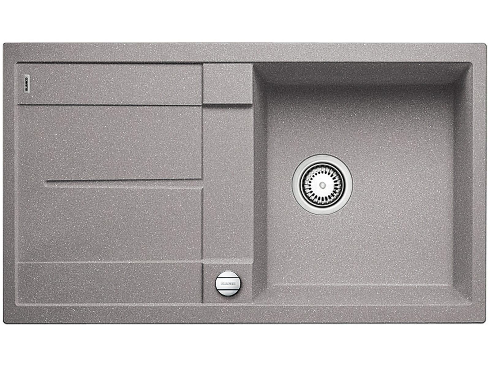 blanco metra 5 s f alumetallic granit sp le 50er us grau fl chenb ndig ebay. Black Bedroom Furniture Sets. Home Design Ideas
