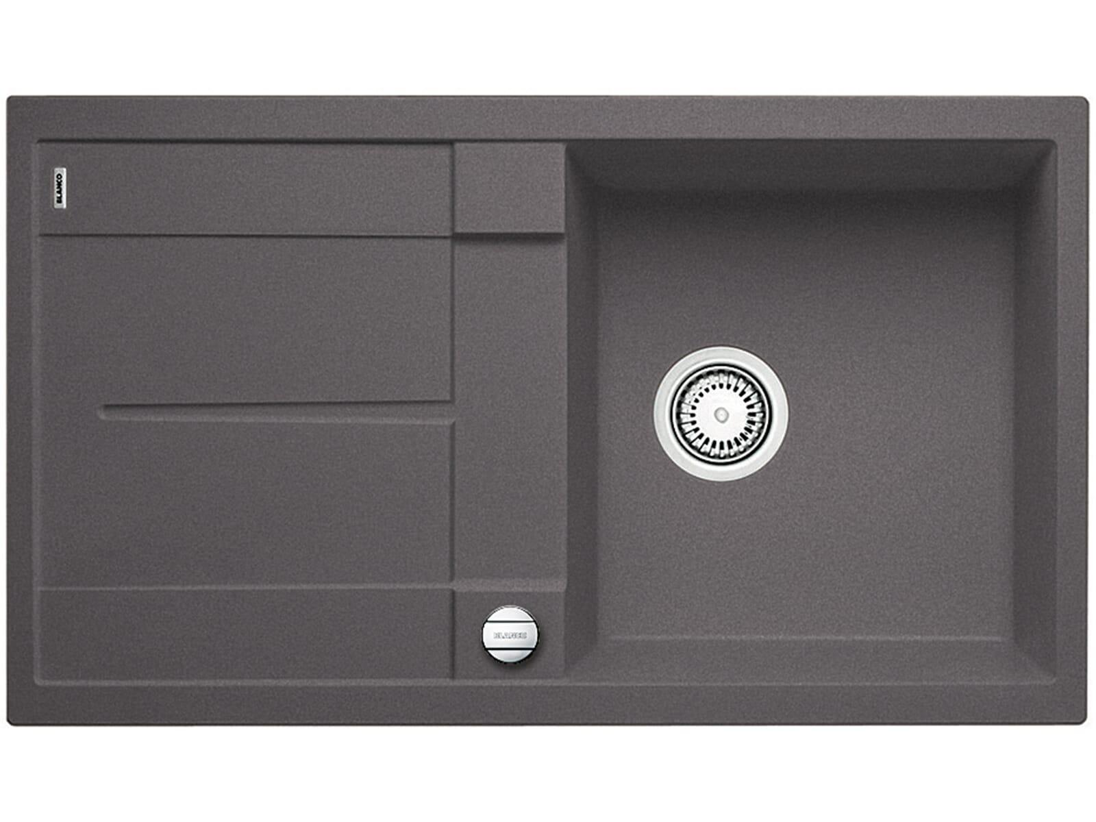 blanco metra 5 s f felsgrau granit sp le 50er us dunkelgrau fl chenb ndig ebay. Black Bedroom Furniture Sets. Home Design Ideas