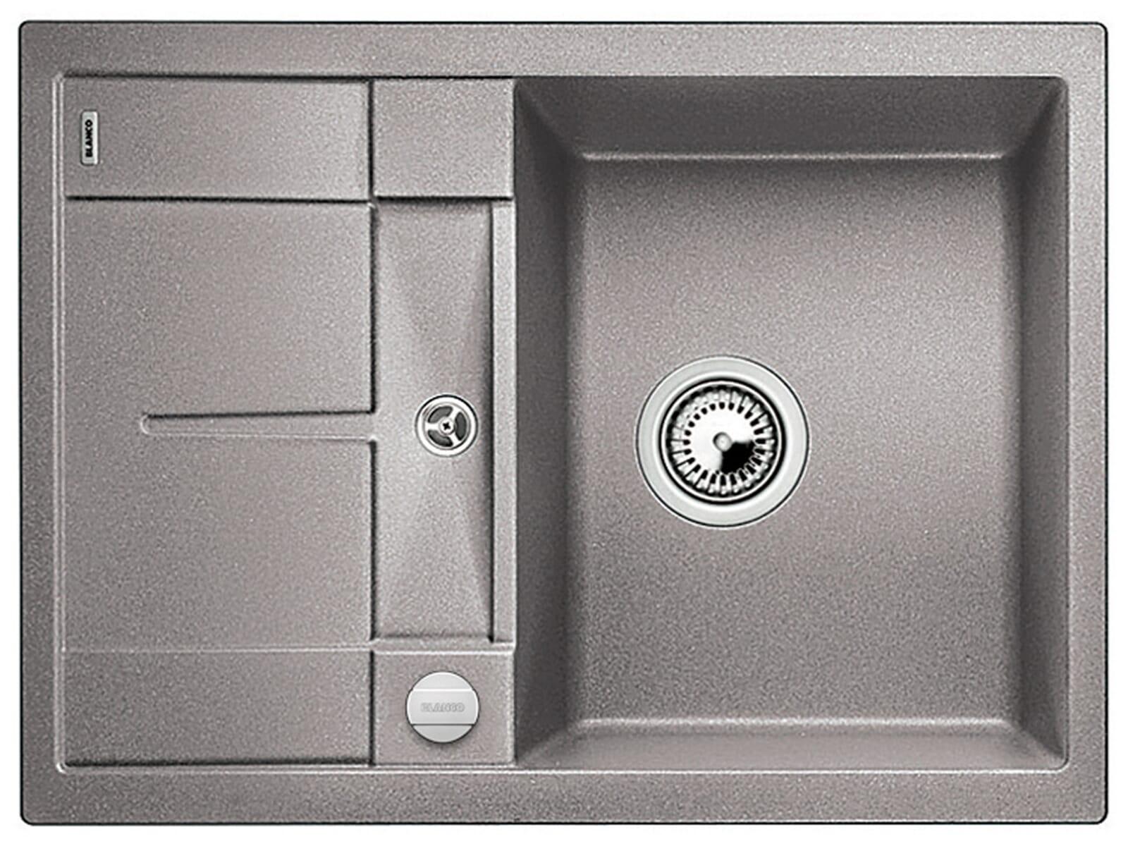blanco metra 45 s compact alumetallic granit sp le f r 214. Black Bedroom Furniture Sets. Home Design Ideas