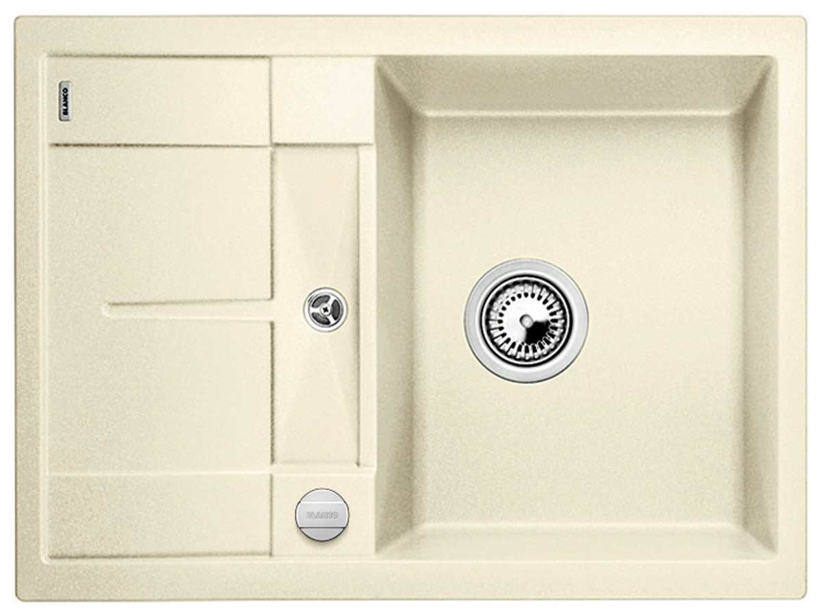 blanco metra 45 s compact jasmin granit sp le f r 214 90 eur. Black Bedroom Furniture Sets. Home Design Ideas