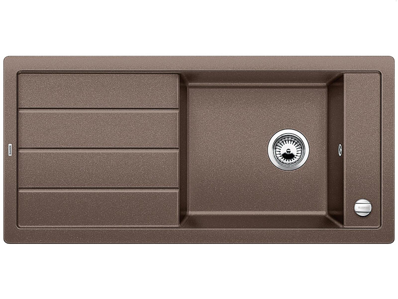 blanco mevit xl 6 s cafe granit sp le f r 248 90 eur. Black Bedroom Furniture Sets. Home Design Ideas