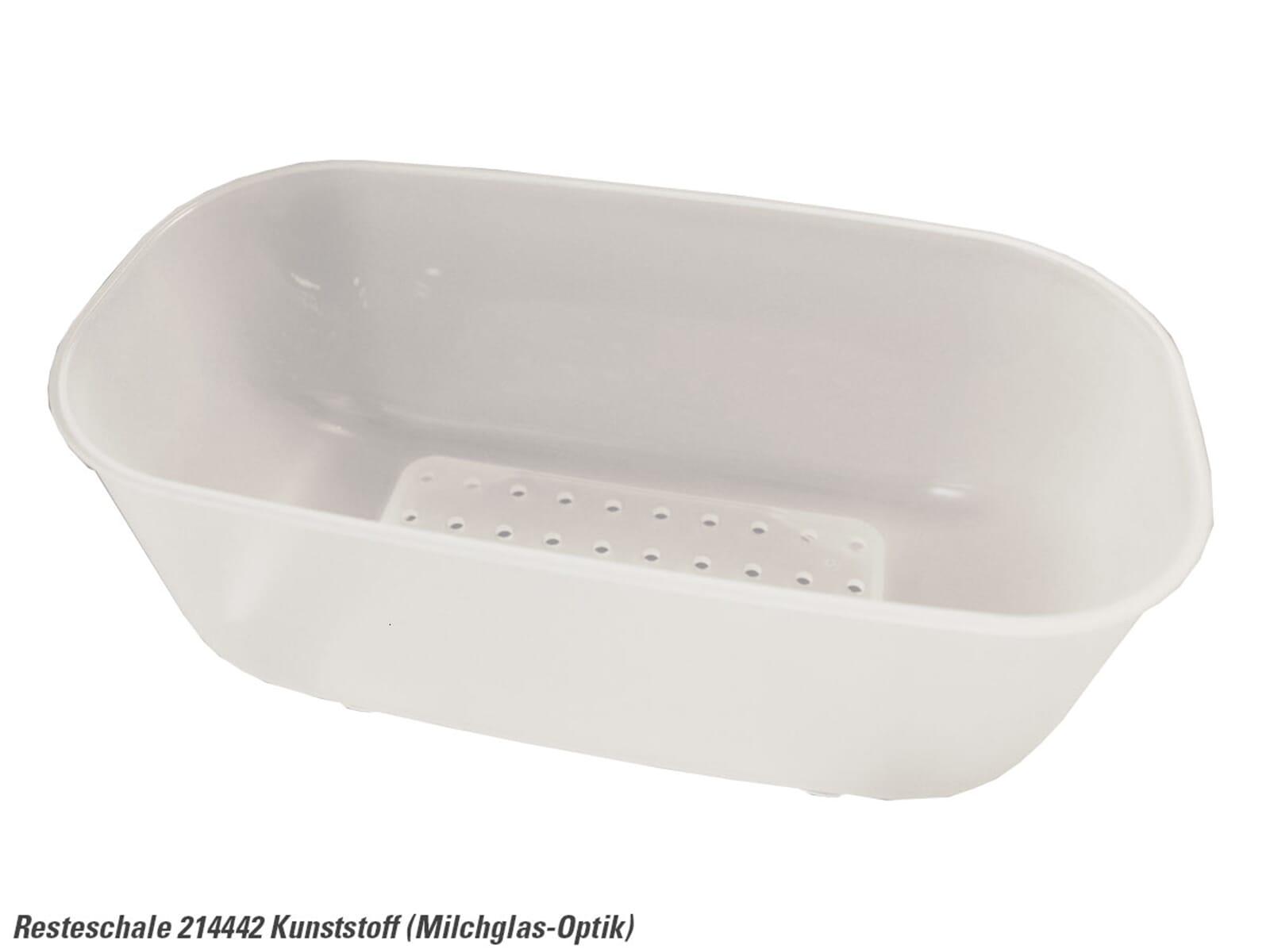 blanco 214 442 resteschale kunststoff transparent wei zubeh r sp le ebay. Black Bedroom Furniture Sets. Home Design Ideas