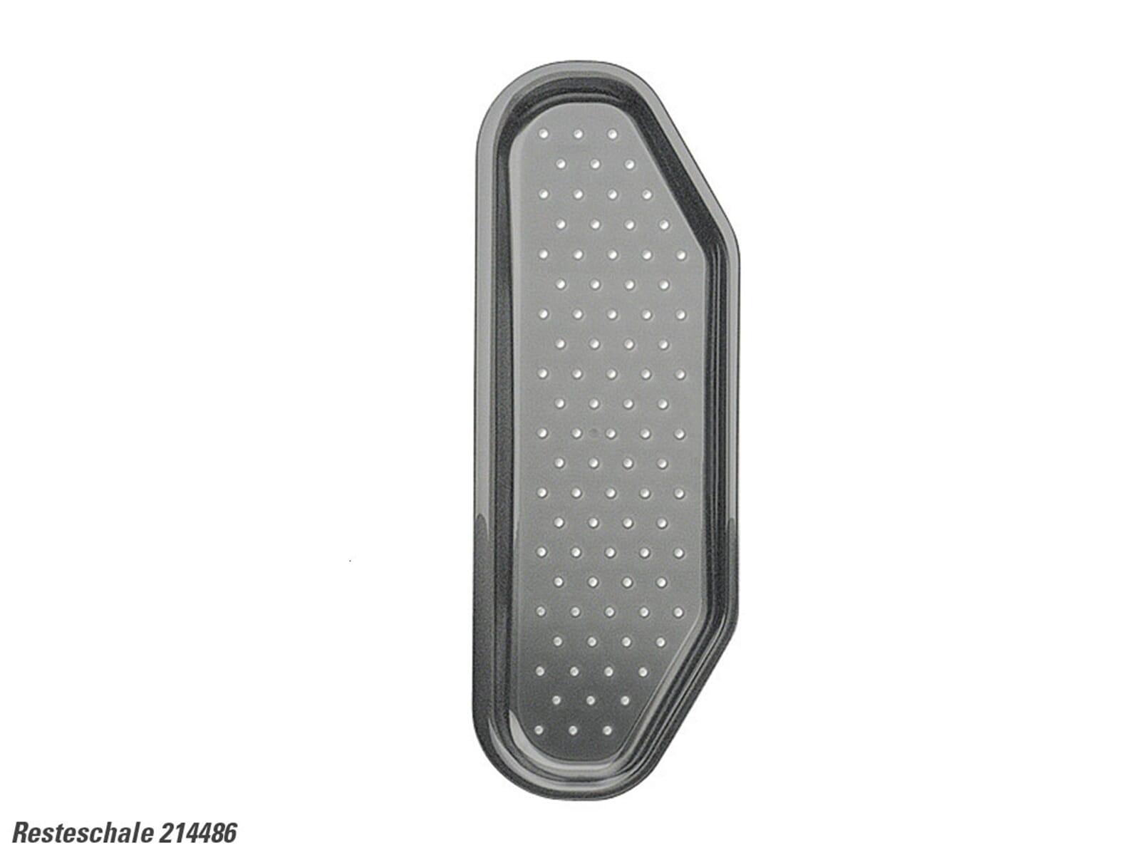blanco 214486 resteschale kunststoff grau ebay. Black Bedroom Furniture Sets. Home Design Ideas