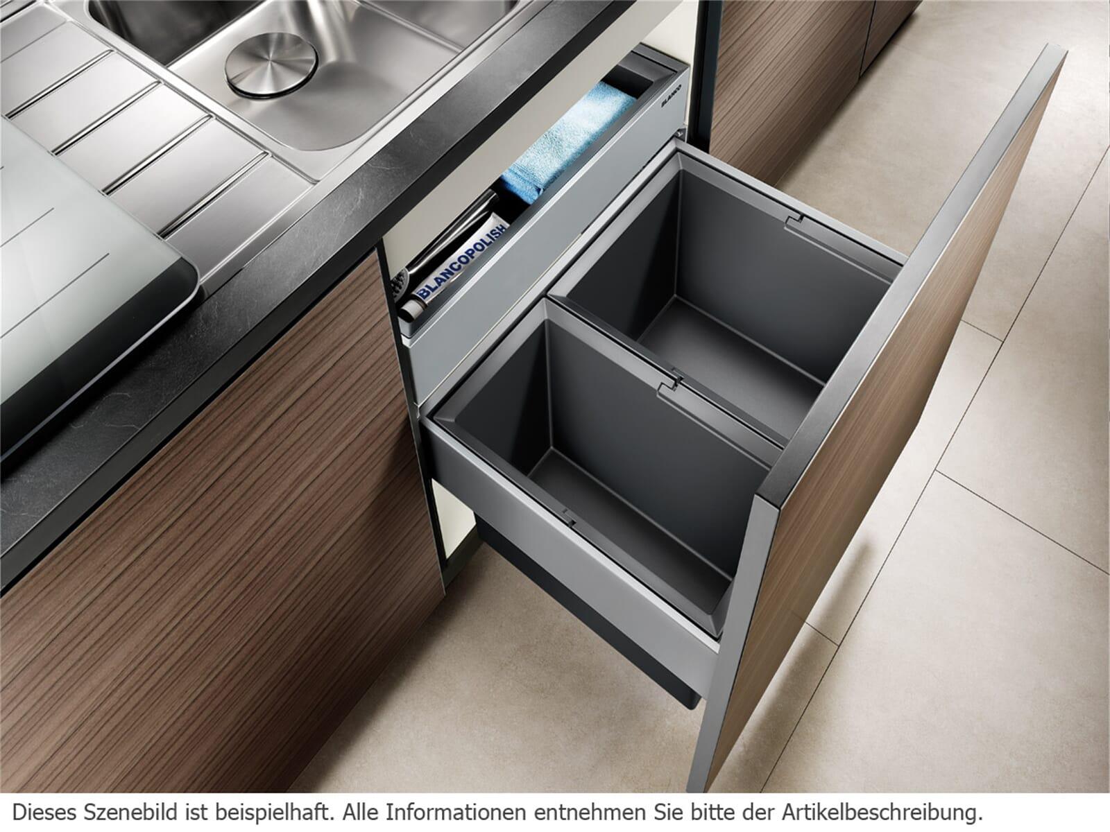 blanco select 60 2 orga einbau abfallsammler f r 178 90 eur. Black Bedroom Furniture Sets. Home Design Ideas