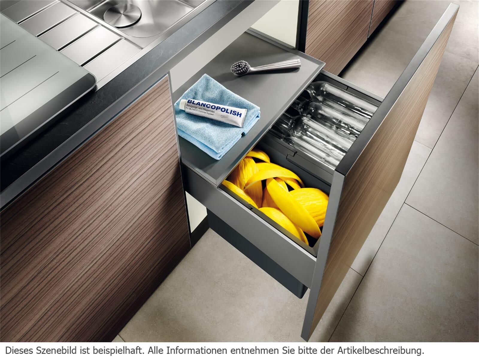 blanco select 60 3 einbau abfallsammler f r 134 90 eur. Black Bedroom Furniture Sets. Home Design Ideas