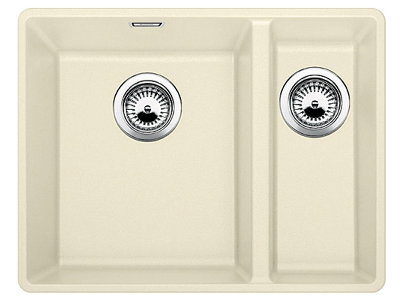blanco subline 340 160 f jasmin granit sp le 60er us beige fl chenb ndig ebay. Black Bedroom Furniture Sets. Home Design Ideas