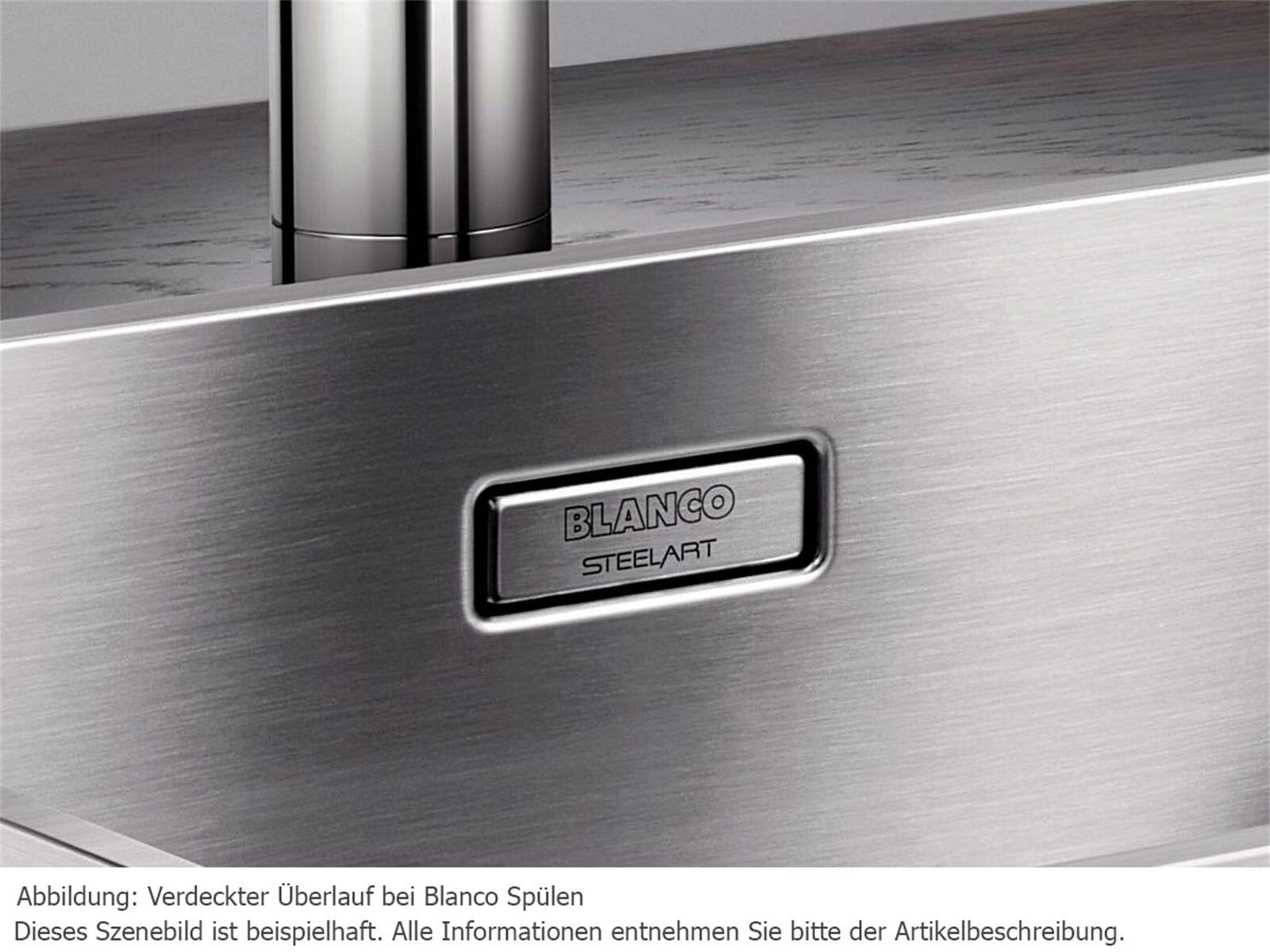blanco andano 340 180 if edelstahl sp le seidenglanz ebay. Black Bedroom Furniture Sets. Home Design Ideas