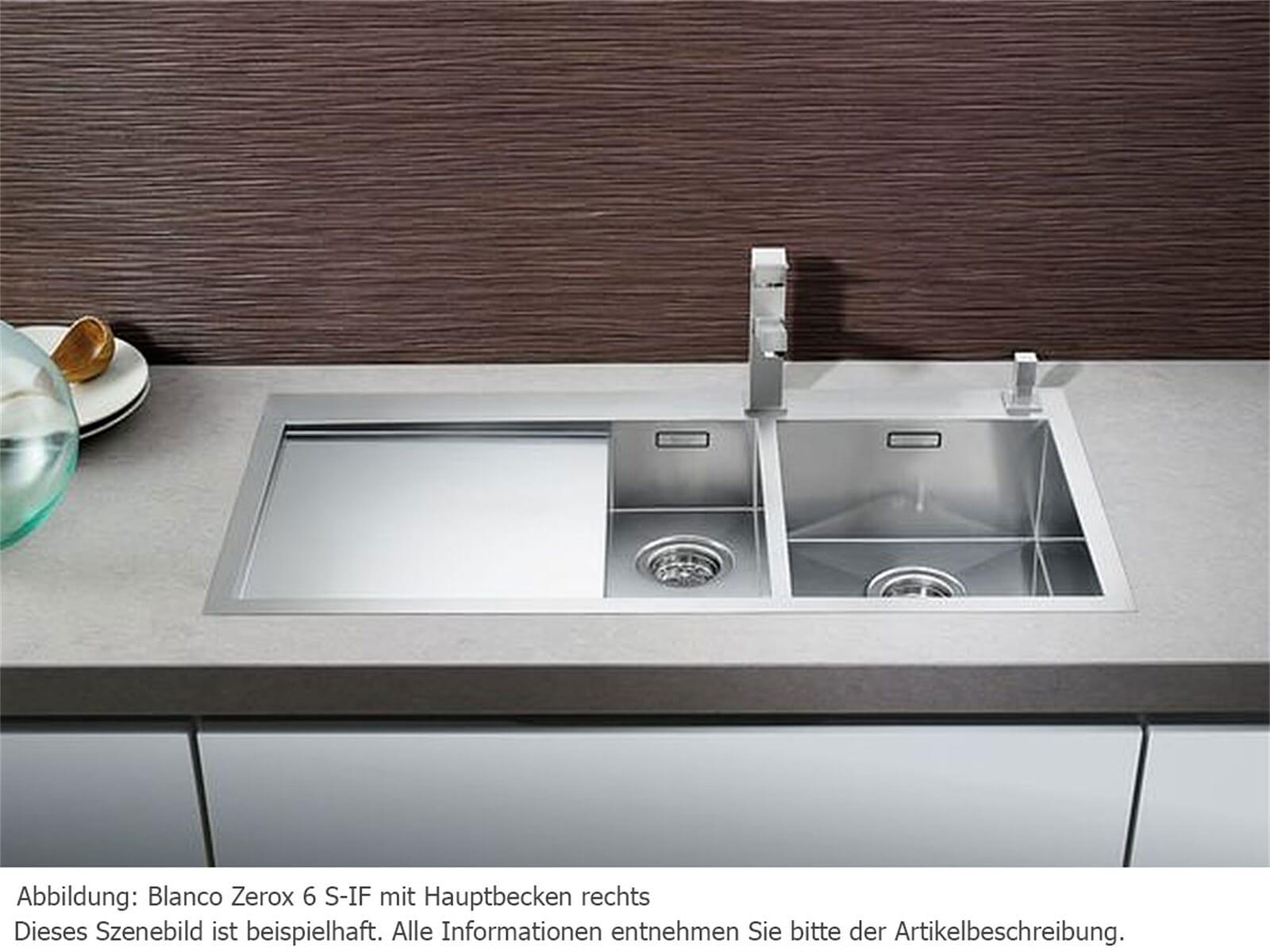 blanco zerox 6 s if edelstahlsp le seidenglanz m hlau. Black Bedroom Furniture Sets. Home Design Ideas