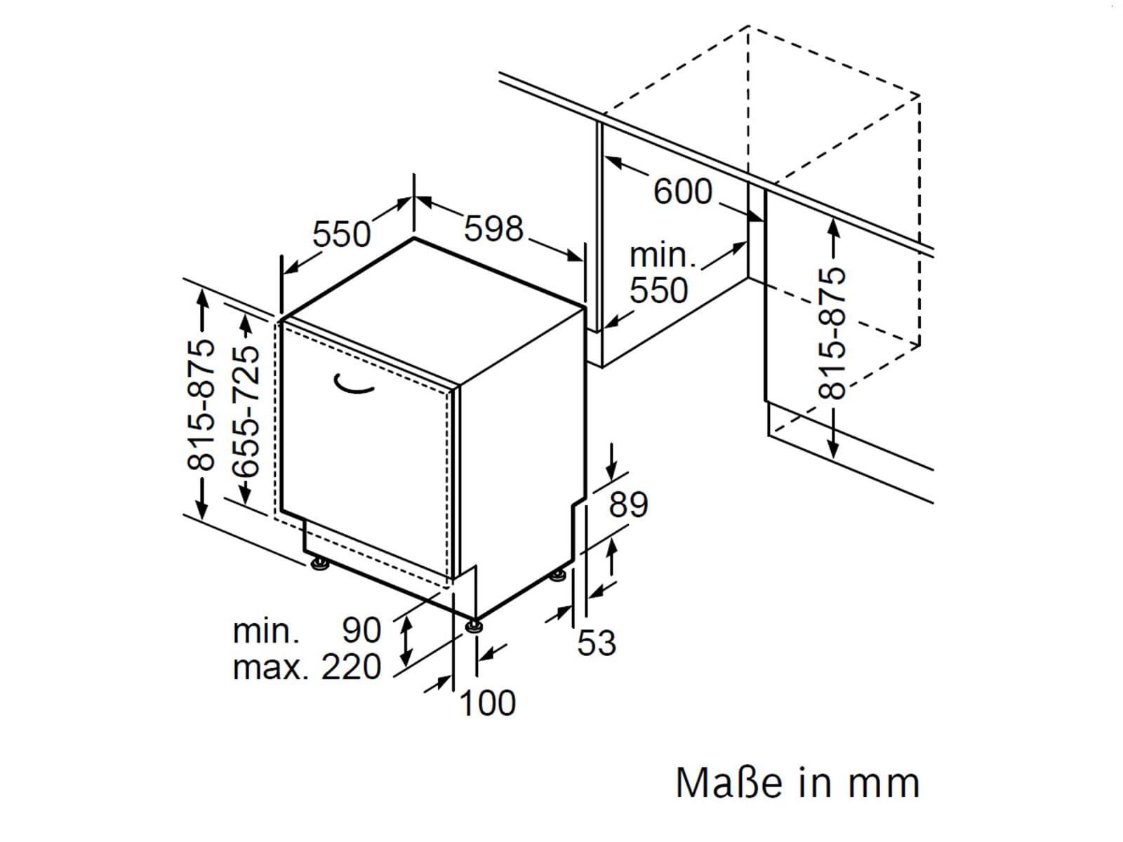 bosch smv68m80eu vollintegriert einbau sp lmaschine 60 cm geschirrsp ler sp ler ebay. Black Bedroom Furniture Sets. Home Design Ideas