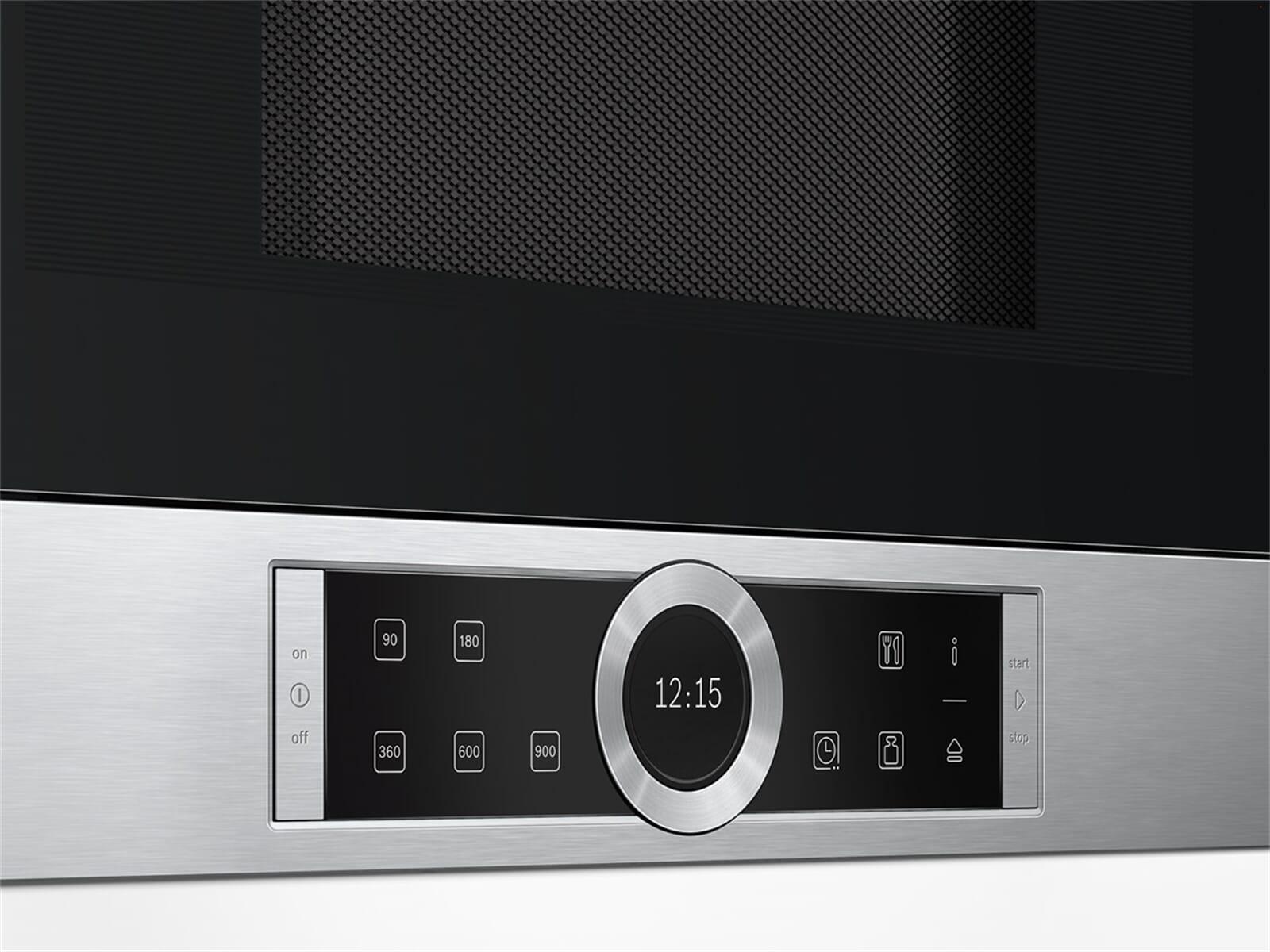 bosch bfl634gs1 einbau mikrowelle edelstahl microwelle. Black Bedroom Furniture Sets. Home Design Ideas