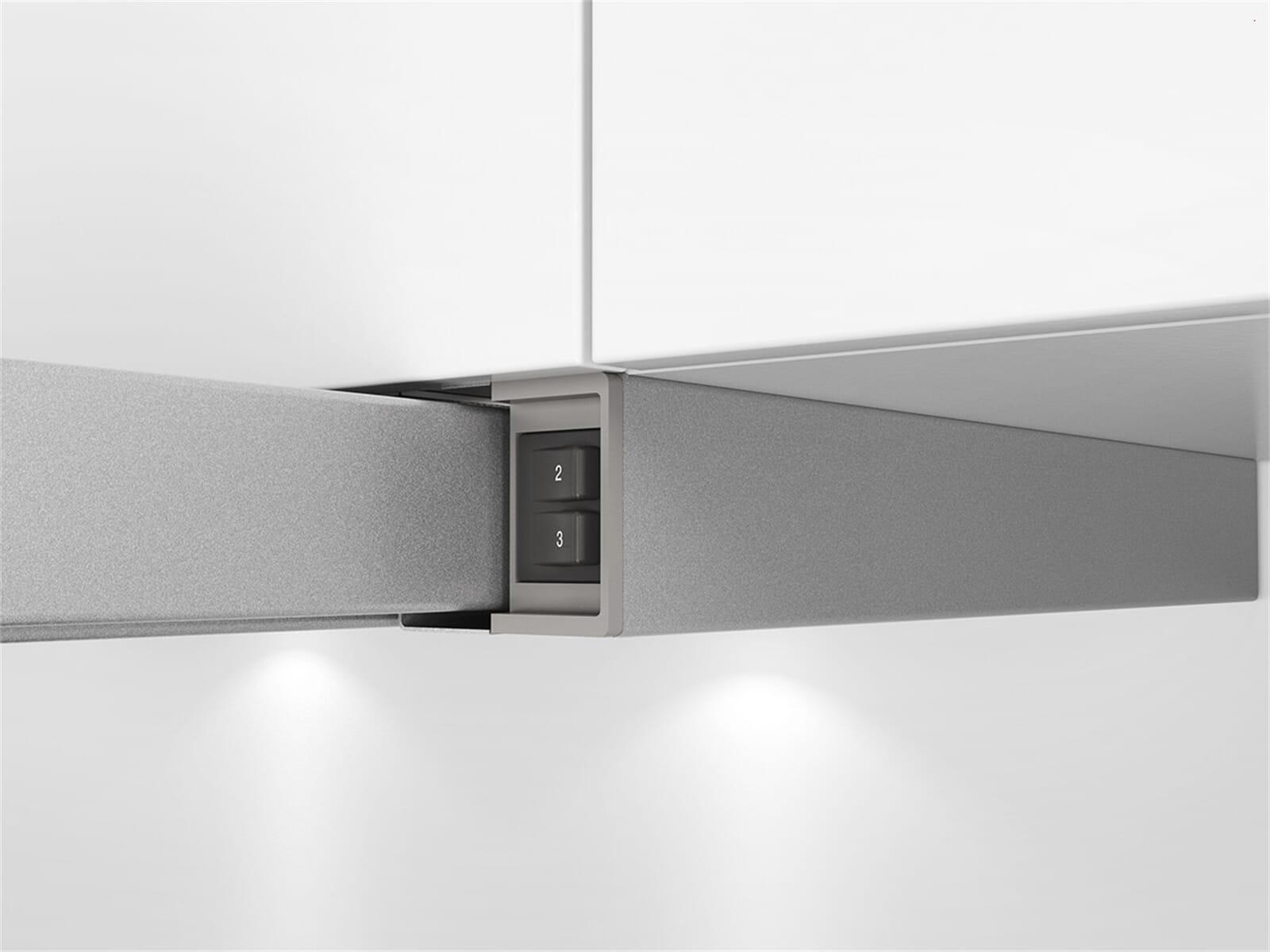 bosch dfl064w50 flachschirmhaube grau metallic ebay. Black Bedroom Furniture Sets. Home Design Ideas