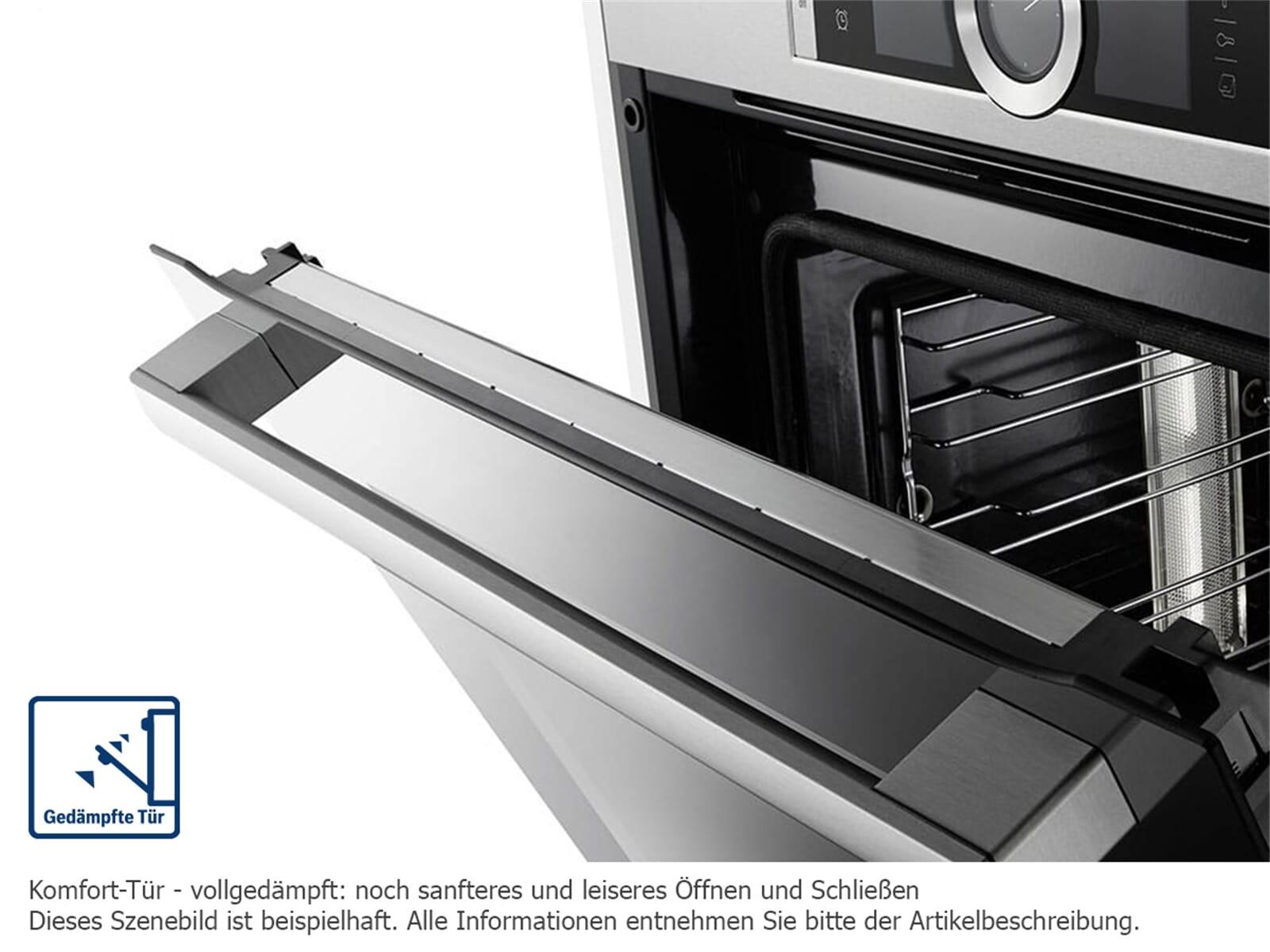 bosch hmg636bs1 backofen mit mikrowelle edelstahl. Black Bedroom Furniture Sets. Home Design Ideas