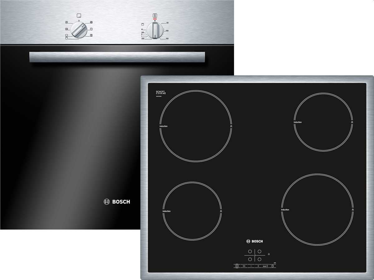 bosch hba20b050 edelstahl 56 cm backofen ebay. Black Bedroom Furniture Sets. Home Design Ideas