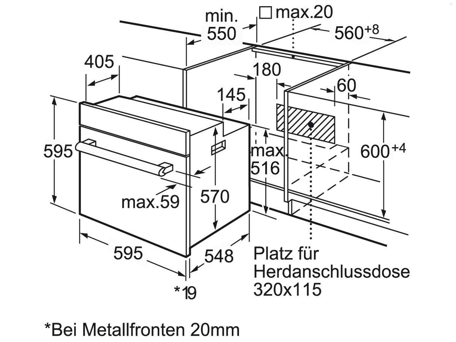 bosch herd set einbauherd hea33t151 induktion kochfeld. Black Bedroom Furniture Sets. Home Design Ideas