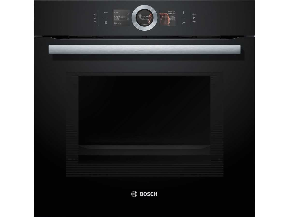 bosch hmg6764b1 pyrolyse backofen mit mikrowelle vulkan. Black Bedroom Furniture Sets. Home Design Ideas