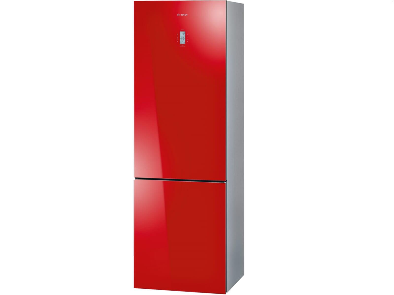 bosch kgn36sr31 stand k hl gefrier kombination rot. Black Bedroom Furniture Sets. Home Design Ideas