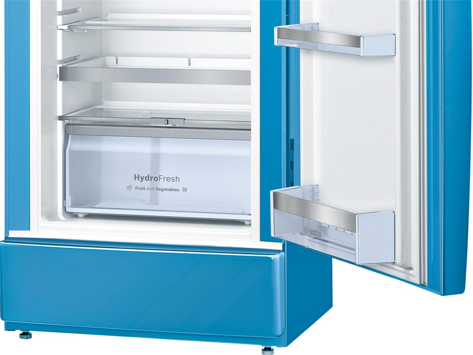 bosch ksl20au30 stand k hlschrank blau retro k hlautomat. Black Bedroom Furniture Sets. Home Design Ideas