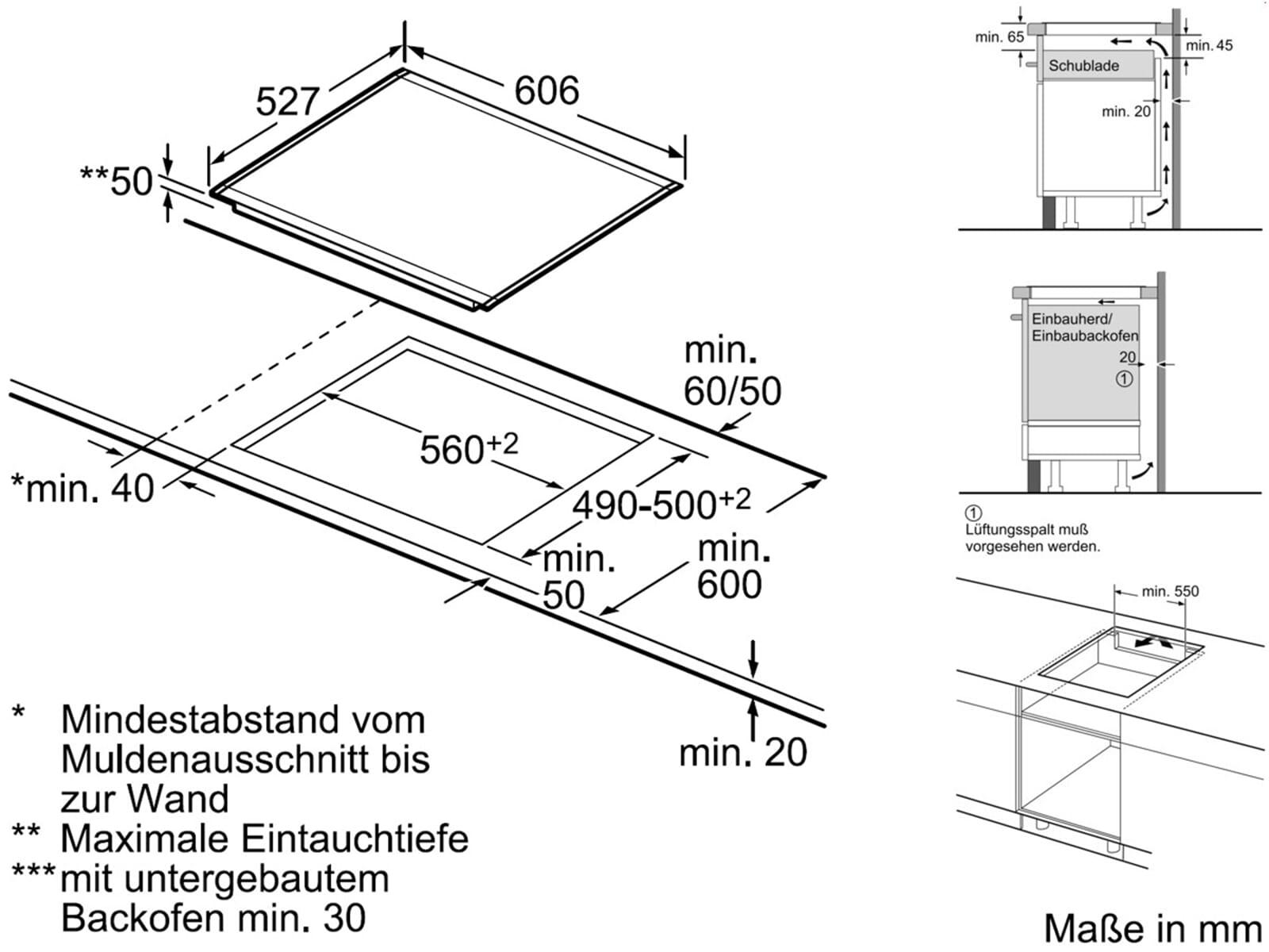 bosch pib673f17e induktion glaskeramik kochfeld autark f r 838 90 eur. Black Bedroom Furniture Sets. Home Design Ideas