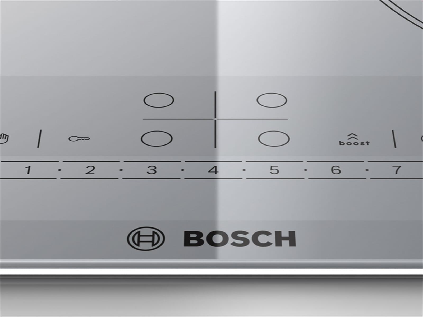 bosch pib679f17e induktion glaskeramik kochfeld autark f r. Black Bedroom Furniture Sets. Home Design Ideas