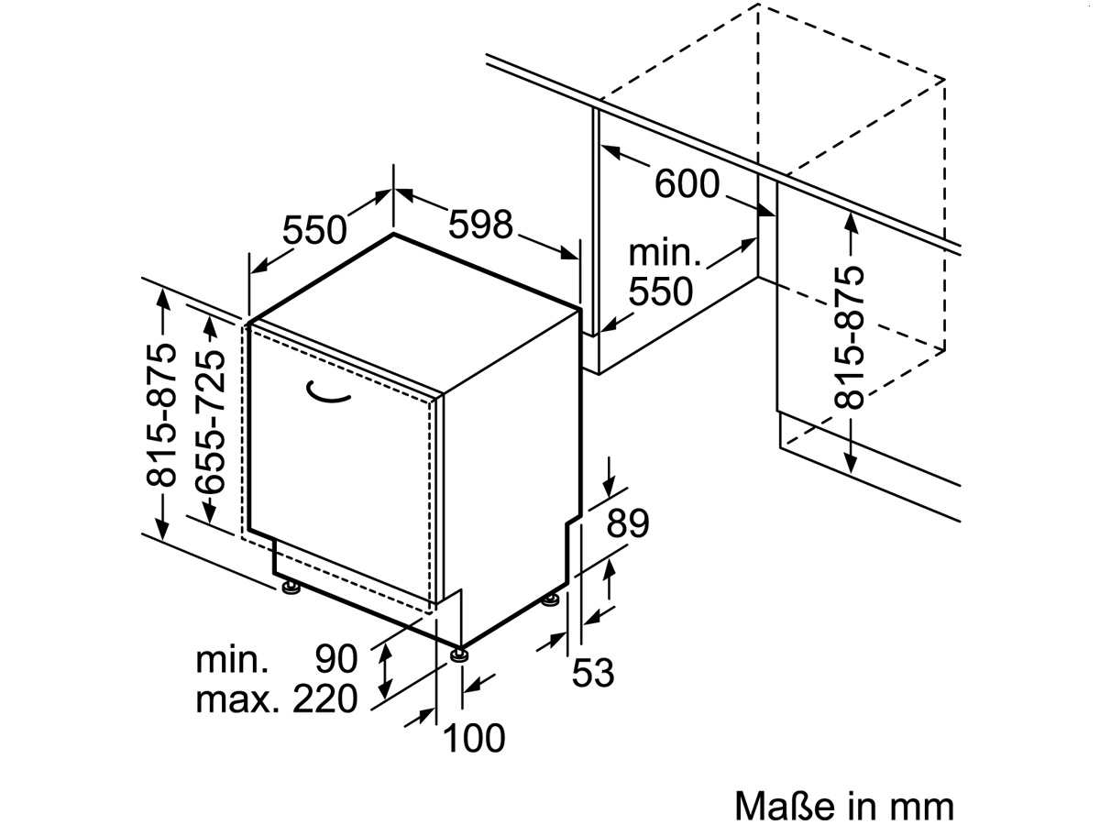 Инструкция по монтажу посудомоечной машины 4