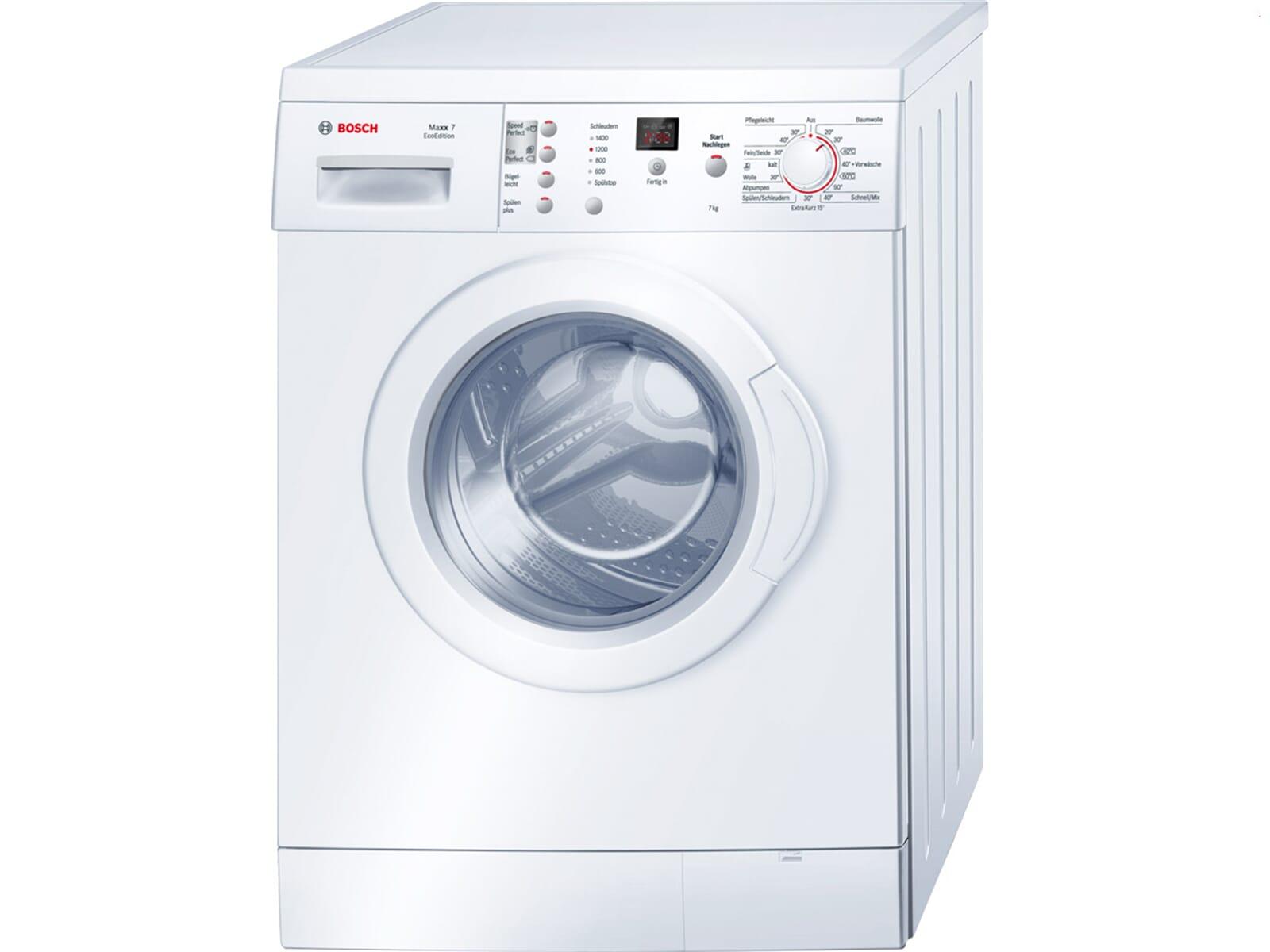 bosch wae283eco stand waschmaschine wei wasch vollautomat frontlader standger t ebay. Black Bedroom Furniture Sets. Home Design Ideas